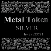 Metal Token Icons by Jay33721