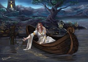 Lady shalott by Tashati