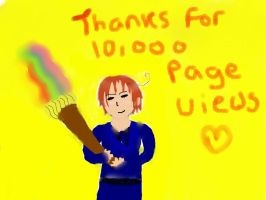 Thanks for 10,000 by 8WaveTheSwallow8