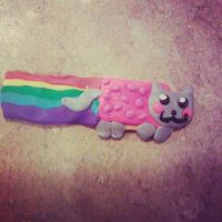 my nyan cat charm fail T.T by opium-saintgabriel