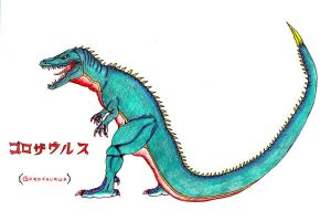 GOROSAURUS by invaderTRIPP666