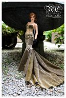 Red Carpet gown 4 by Nigelchia