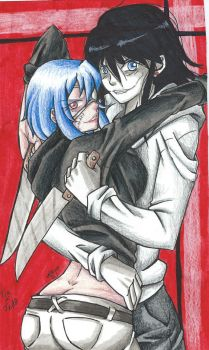 Request - Tia the Killer x Jeff the Killer by MionOfDeath