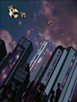 LOOK, Up in the sky... by Zimmer-man