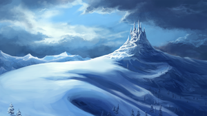Snowmountain by comeonovercn