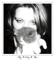 My kitty and me by Tamilia