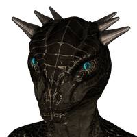 Argonian Eyes Almost Finished by not-really-living