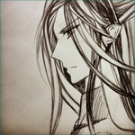 Feanor Sketch by Lembas--Bread