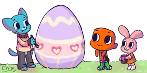 TAWOG Easter by chibitracydoodles