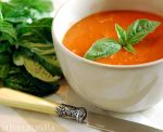 Roasted Red Pepper Soup by UrbanMasala