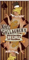 Noel Gallagher's High Flying Birds Poster by kasandramurray
