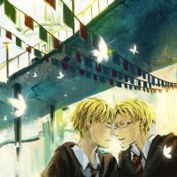APH-morning kiss by LitLoud