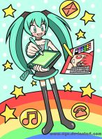 Hatsune Miku's Drawing Pad by cyu