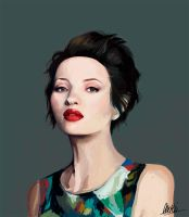 Emily Browning by morbidcookie