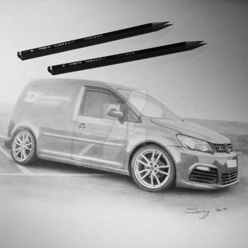 VW Caddy commission by SARGY001
