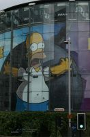 Homer Simpsons by Nohition