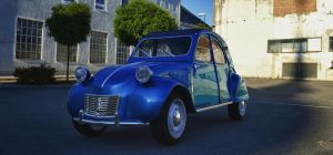 Citroen 2CV by TheImNobody