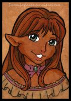 Jasmine ATC by ImmortalPanda