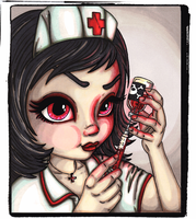 Mad Nurse by JadeDragonne