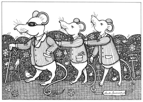 Three Blind Mice by AnitaInverarity