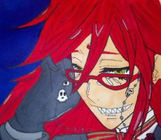 Grell Sutcliff by SailorDerp