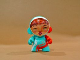 munny girl front by Turuel