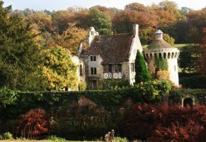 Scotney Castle 9 - Stock by GothicBohemianStock