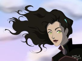 Hair Commercial Asami by hamstermermaid