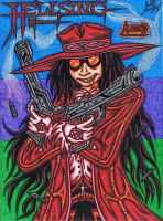 .:HELLSING:. Alucard The Vampire Hunter by AceOfSpeed94