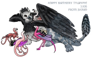 Happy Birthday TyGryph by lethe-gray