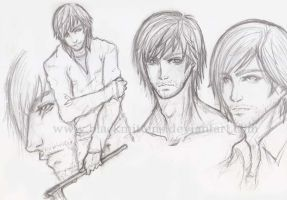 Sketches: Henry Townshend by blackmittens