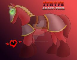 Stryfe - Ghost Steel Legendary Fakemon by JamalPokemon