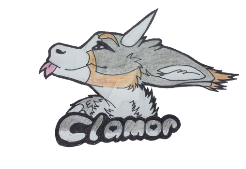 Dutch Angel Dragon Badge (Request) by Tannisthefox