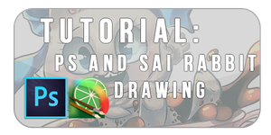 TUTORIAL: SAI and PS Drawing - Tea Cup Rabbit by Felynea
