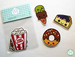 Sweet stickers by Yume-fran