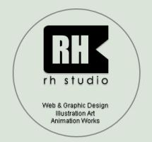 RH Studio - Logo by rasulh