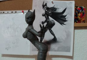 batgirl wip by Chicharo