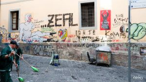 Wall of Napoli by rdalpes