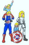 Rogers family-Request by Nickyparsonavenger