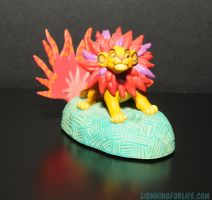 Lion King Simba Electronic Talking Xmas Ornament by LionKingForLife