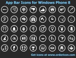 App Bar Icons for Windows ... by shockvideo