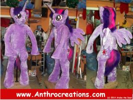 TWS Sparke Fulls Suit Cosplay Fursuit MLP by AtalontheDeer