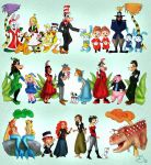 Disney Seusical by MildArtAttack