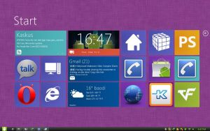 Win8 on XWidget for Win7 by boyzonet