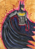 Batman by Lapapolnoch