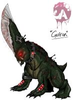 Kaiju Wars: Guiron by Blabyloo229