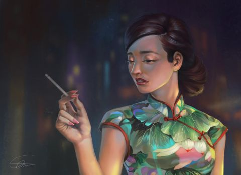 ShangHai Woman by Ultraman0716chen