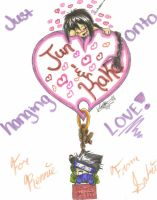 Hanging Onto Love?-For Ren- by Sabre-Jo