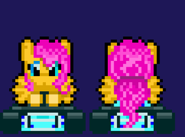 Fluttershy GoKart Beta by NES-Fan