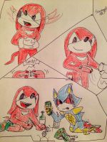 Knuckles's Secret by Starsinger1